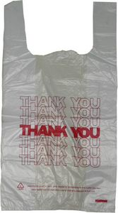 Thank-you T-shirt Bag(1)