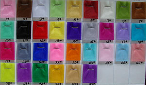 Organza Fabric Color Chart