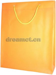 Rope Handle Bag Orange