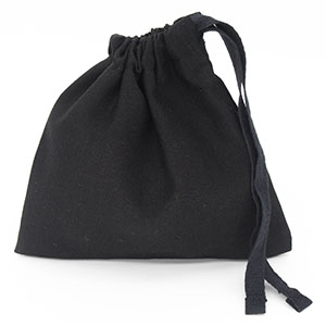 Cotton Bags with Cotton Drawstring