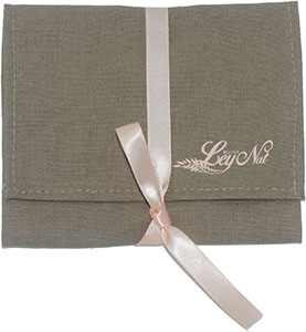Cotton Envelope with Ribbon