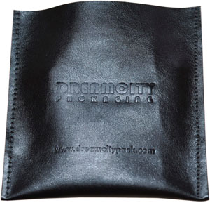 Debossed Soft Leather Pouch