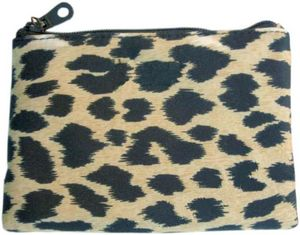 Faux Fur Purse with Zipper