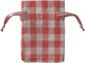 Gingham Cotton Bag Pink