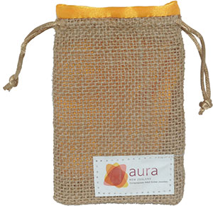 Jute Burlap Jewelry Bags with Satin Lining and Custom Logo
