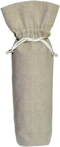 Natural Linen Bag for Bottles