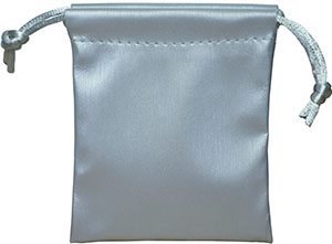 Metallic Faux Leather Pouch