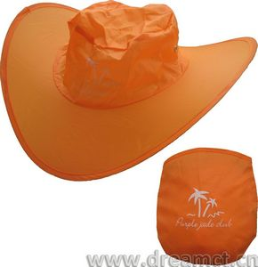 Twist-and-Fold Nylon Sun Hat