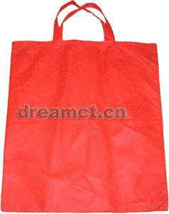Plain Nonwoven Bag Red