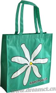 Nonwoven Tote Bag with Zipper