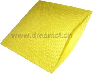 Plain Nonwoven Pouch Yellow
