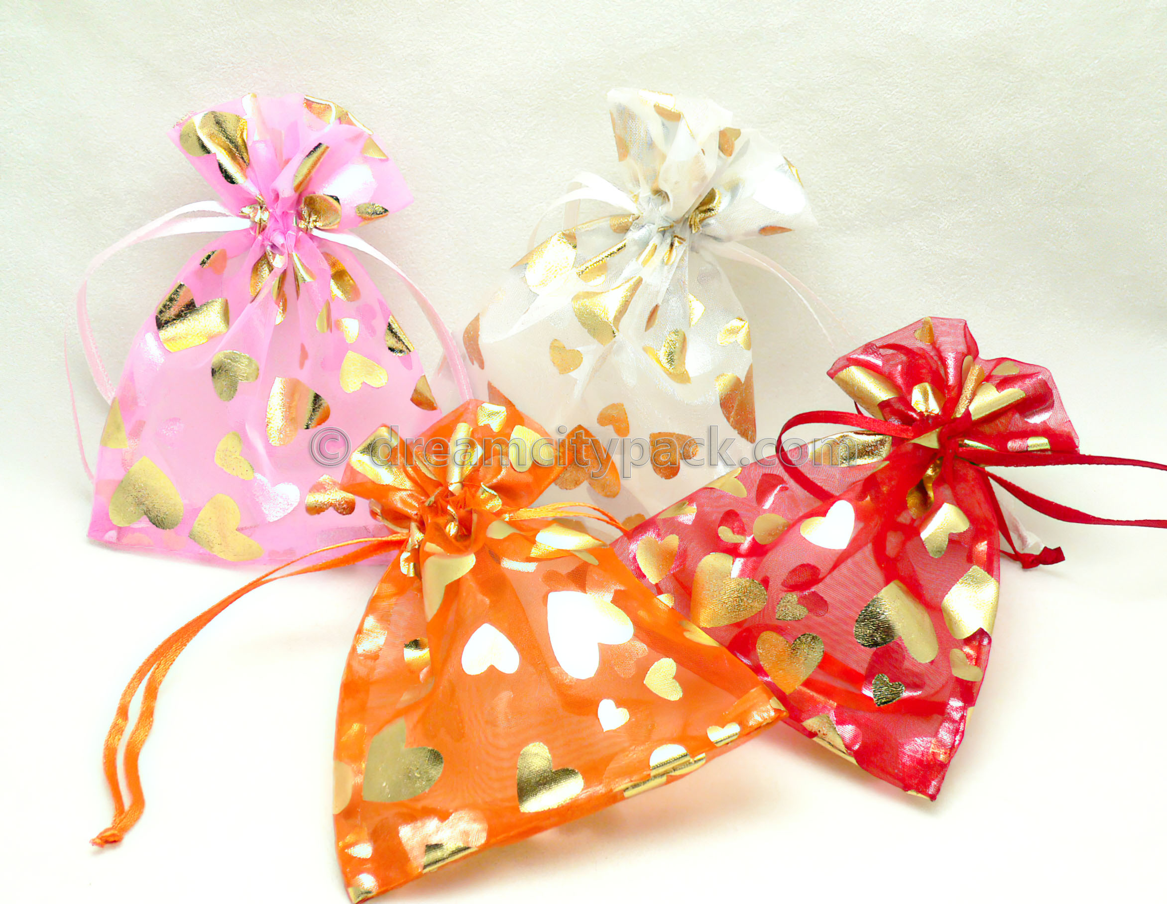 Organza Bags with Hot-stamping Pattern 7
