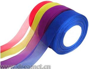 Plain Organza Ribbon