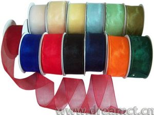 Wired Organza Ribbon