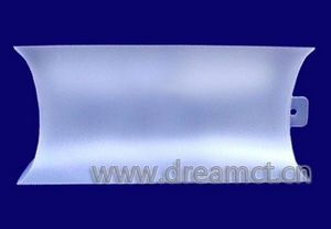 Translucent Plastic Pillow Box