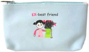 PU Pencil Bag Friends