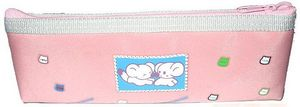 Nylon Pencil Bag Pink