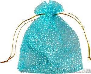 Decorative Organza Bags for Wedding Favors Snowy