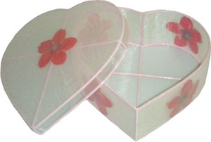Sweet Heart Organza Box